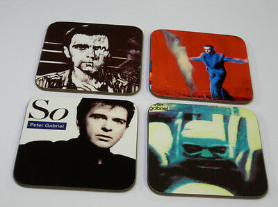 Peter Gabriel Album Cover COASTER Set