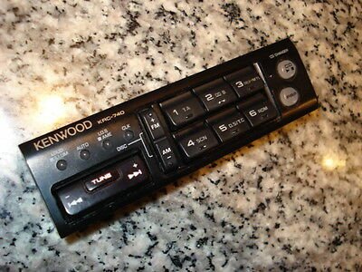 KENWOOD OLD SCHOOL TDF-740 FACE OFF REMOVABLE FACEPLATE