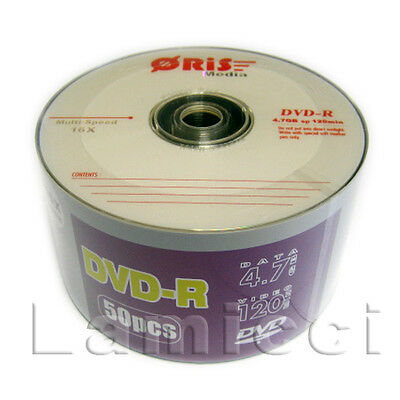 DVD-R 16x 120Min 4.7GB Logo Top Wholesale 600pcs Blank Media for Duplication