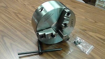 "10"" 3-JAW SELF-CENTERING LATHE CHUCK D1-6 MOUNTING--0.003"" TIR--new"