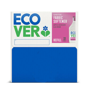 Ecover Fabric Softener Conditioner Apple Blossom and Almond Fragrance 15 Litre