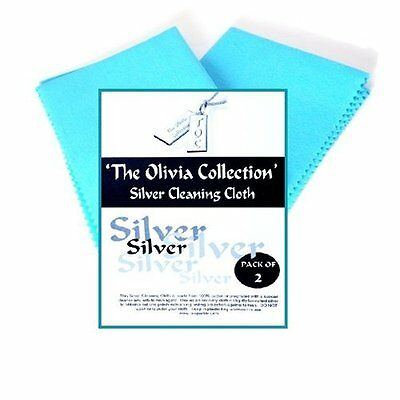 Toc Silver Jewellery Cleaning & Polishing Cloth X2