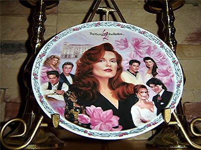 The Young And The Restless LAUREN'S LOVES Soap Opera Daytime Plate