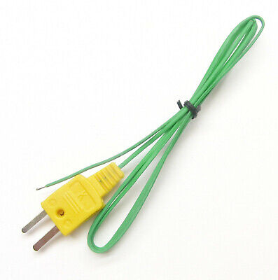K-Type Thermocouple Wire Sensor f. Digital Thermometer Temperature Probe TC-1 1p