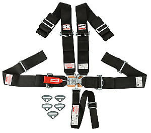 Simpson 29043BK Sport Latch & Link System 5-Point Individual Harness