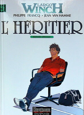 LARGO WINCH N° 01 L'heritier BD 2001 Edition speciale