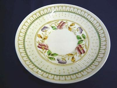 """WOODS & SONS ENGLAND CHINA BRIER PATTERN SAUCER ONLY 5-5/8"""" DIAMETER"""