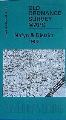 Old Ordnance Survey Maps Nefyn Llyn Peninsular Criccieth  District 1903 S118 New