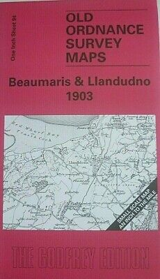 Old Ordnance Survey Maps N Wales Beaumaris & Llandudno & plan Beaumaris 1903 S94