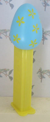 PEZ Easter Series - Blue Colored Egg -  5.9 Hungary - loose