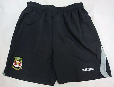 Wrexham Boys Home Keepers Shorts By Umbro Size Xl Boys Brand New