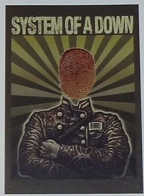 """SYSTEM OF A DOWN """"SOLDIER"""" Fabric Poster Oversized 30""""X40"""" Poster Flag NEW"""