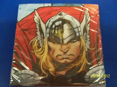Thor The Mighty Avenger Movie Marvel Birthday Party Paper Beverage Napkins