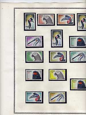 Collection 760 Timbres  Guinee Afrique