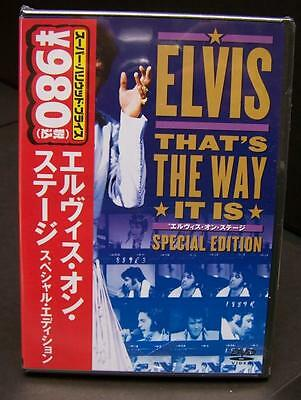 Elvis Presley - That's The Way It Is - Concert '70 Tour -Dvd Special Ed Asia Obi