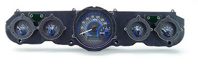 1965 Ford Mustang VHX Instruments (Silver Alloy Blue)