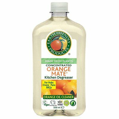 Earth Friendly Concentrated All Purpose Orange Mate Cleaner and Degreaser 500ml