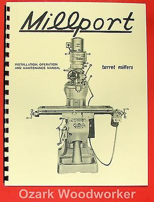 MILLPORT 2S Mill Parts Operator's Manual 0467