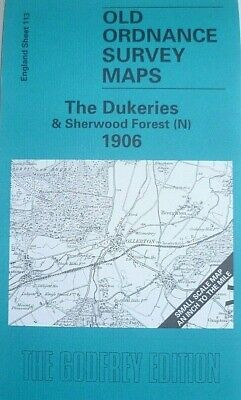 Old Ordnance Survey Maps Dukeries Sherwood Forest (N) & Sutton U Trent 1906 S113
