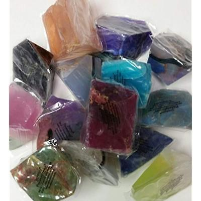 T S Pink Soap Rocks, PALM STONES, PalmStone, Gemstone No two alike Mineral Soap