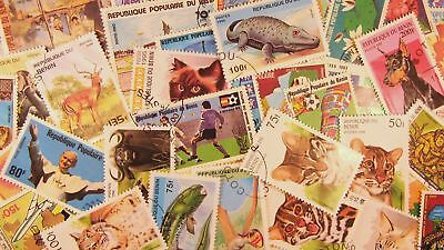 Packets - Country - Lot - Stamp Packet - 50 Benin