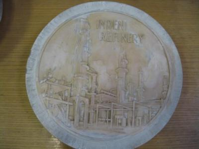 Gesso Punzone Indeni Refinery Stampo Medaglie Commemorative