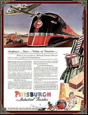 PITTSBURGH PAINTS ADV.: FORTUNE MAG. JUNE 1941
