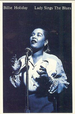 Carte Postale Postcards Chanteuse BILLIE HOLIDAY Lady Sings the Blues