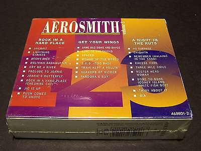 Aerosmith - Volume 2° - Boxset 3 Cd 1° Uscita Digitally Mastered - Sigillato Eu