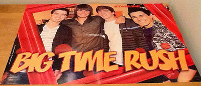 BIG TIME RUSH Group and James Maslow Double-Sided Magazine Posters—MUST-HAVE!