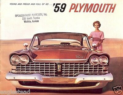 Auto Brochure - Plymouth - Sport Fury Station Wagons Belvedere Savoy 1956 (AB86)
