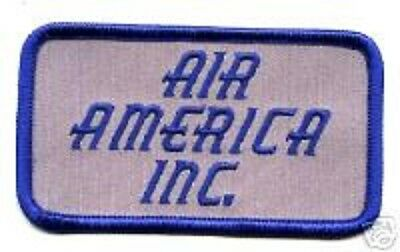 Vietnam War Nam Era Cia Spy Operation Air Carrier Air America Chest Id Patch