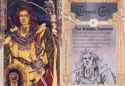 Carte Cards Collector THOMAS CANTY Numero 1 The Eternal Champion