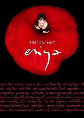 ENYA   the VERY BEST OF    A4  printed album poster