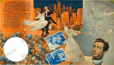 1937 FOLLIE DI BROADWAY Broadway melody Robert TAYLOR Eleanor POWELL *Volantino