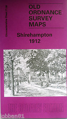 Old Ordnance Survey Map s Shirehampton near Bristol 1912 Sheet 71.06 Brand New