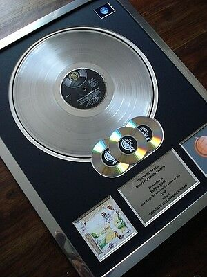 Elton John Goodbye Yellow Brick Road Lp Multi Platinum Disc Record Award Album