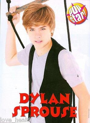 """DYLAN SPROUSE - 11"""" x 8"""" MAGAZINE PINUP - POSTER - TEEN BOY ACTOR"""