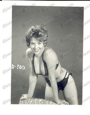 1965 ca USA - EROTICA VINTAGE Smiling woman in sexy lingerie *PHOTO