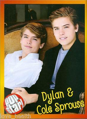 """DYLAN & COLE SPROUSE - CODY SIMPSON - 11"""" x 8"""" MAGAZINE PINUP - POSTER"""