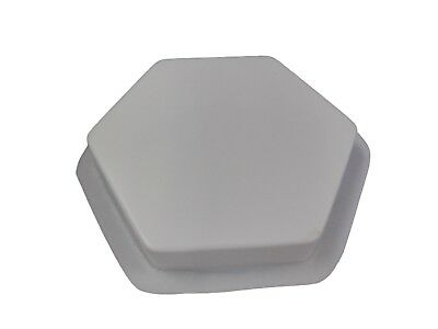 Plain Hexagon 16 in Stepping Stone Paver Concrete Cement Mold 2033 Moldcreations