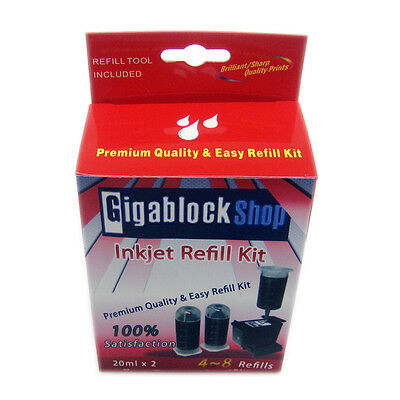 Dye Black ink Refill Kit for Canon PIXMA iP1600 iP1800 MP160 MP170 MX300