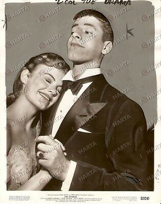 1952 THE STOOGE Jerry LEWIS hugging Marion MARSHALL Cinema *Photo