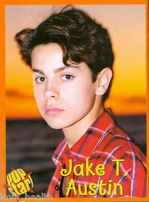 "JAKE T AUSTIN - WIZARDS OF WAVERLY PLACE - 11"" x 8"" MAGAZINE PINUP - POSTER"