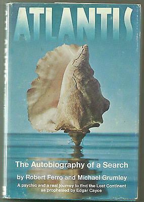 Atlantis - The Autobiography of a Search by Robert Ferro and Michael Grumley
