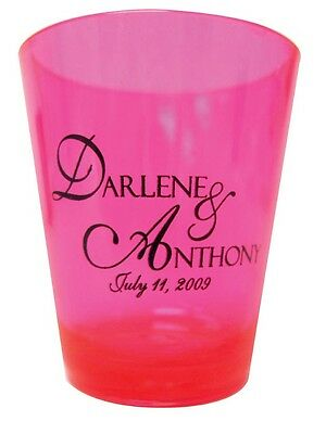 120 New PERSONALIZED SHOT GLASSES Party Wedding Favors