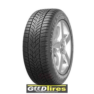 4x Winter-Reifen 225/45 R17 94V DUNLOP SP Winter Sport 4D XL MFS (E,C,68 dB)