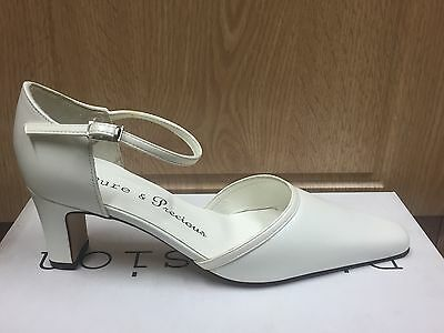 Ivory Leather Bridal Bridesmaid Shoes All Sizes By Pure And Precious GABRIEL