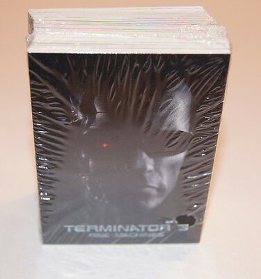 TERMINATOR 3: RISE OF THE MACHINES Complete Trading Card Set w/ KRISTIANNA LOKEN