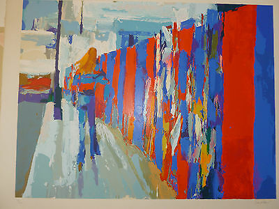 Palisade by Nicola Simbari - Hand Signed and Numbered Limited Edition Serigraph